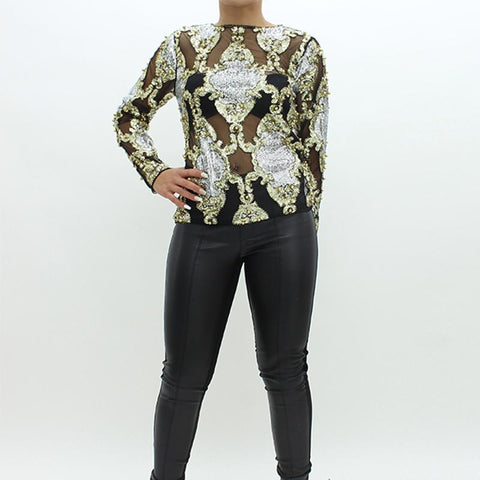 Womens - Forever Unique Dara Top Black