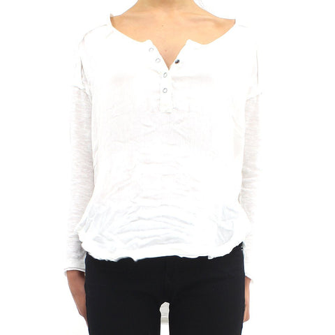 Womens - Free People American Girl Shirt White