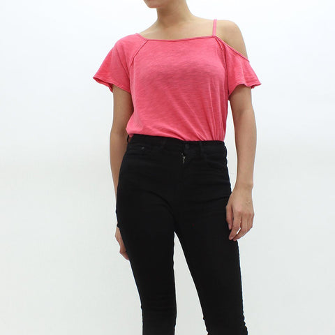 Womens - Free People Coraline Tee Red