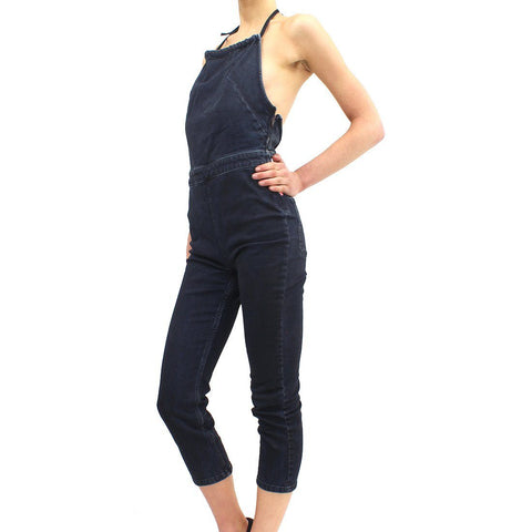 Womens - Free People Hearts On Fire Dungarees Denim