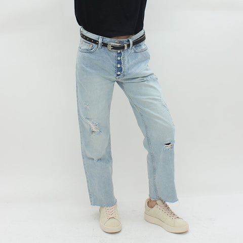 Womens - Free People Montauck Rolling River Jeans Blue