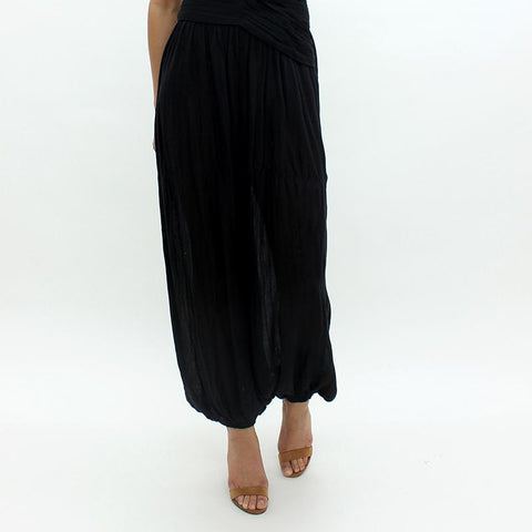 Womens - Free People Mumbai Balloon Pant Black