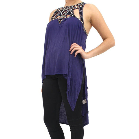 Womens - Free People Purple Vision Vest.