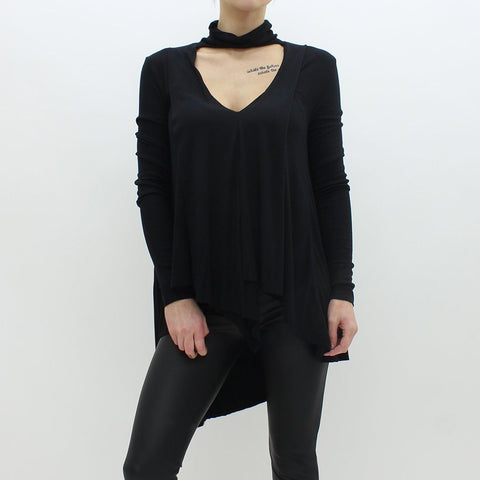 Womens - Free People Uptown Top Black