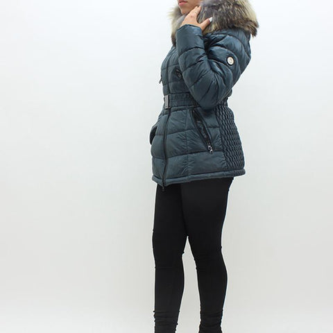 Womens - Frocella BZ11 Puffa Jacket Grey