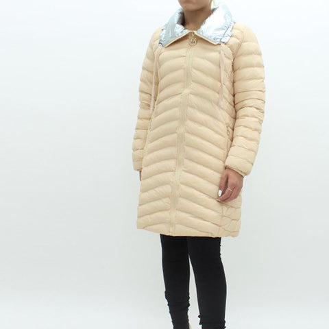 Womens - Pinko Eumeo Puff Jacket Cream