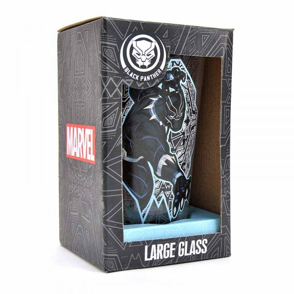 Marvel Black Panther Large Glass
