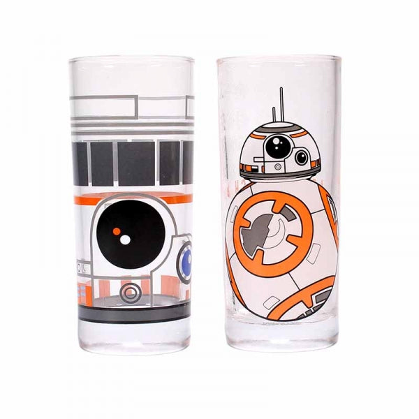 Star Wars Set of 2 Glasses (BB-8)