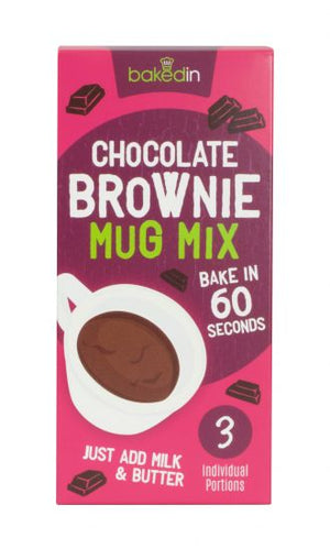 Belgian Chocolate Brownie Mug Mix (3 Sachets)