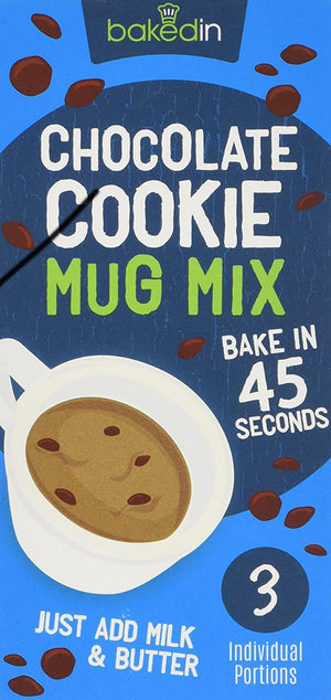 Belgian Chocolate Cookie Mug Mix (3 Sachets)