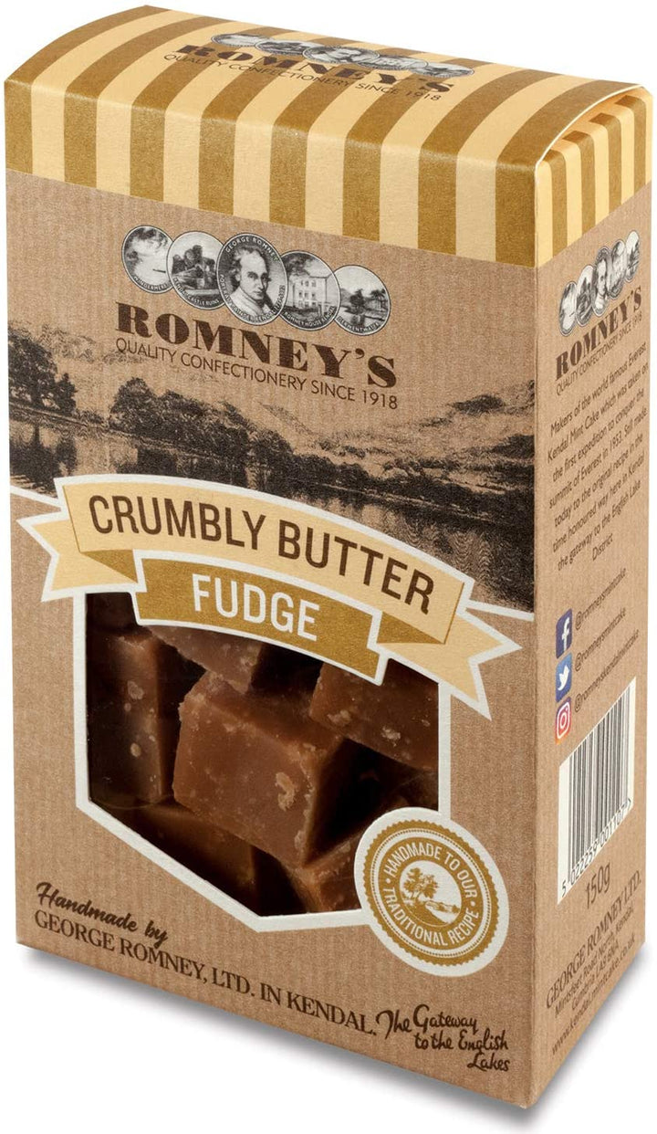 Romneys Crumbly Butter Fudge