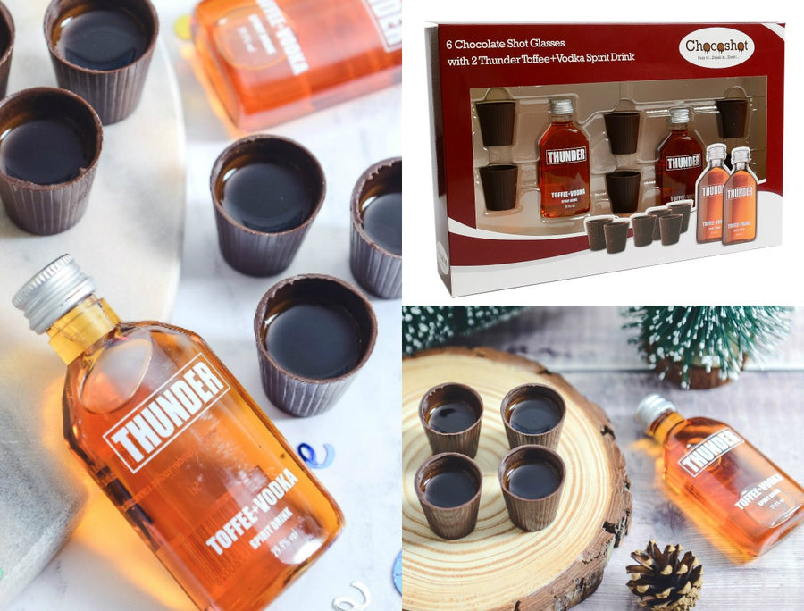 Chocoshot Toffee Vodka Gift Set