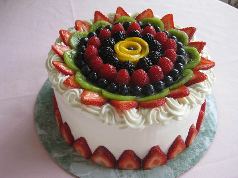 TCW001 - Fruit Fancy Cake