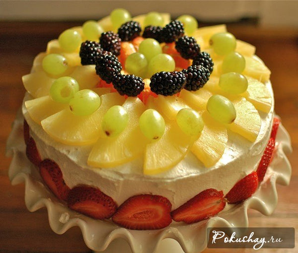 TCW003 - Fruit Fancy Cake