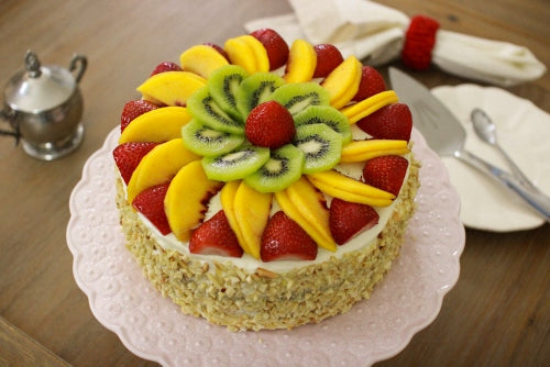 TCW009 - Fruit Fancy Cake