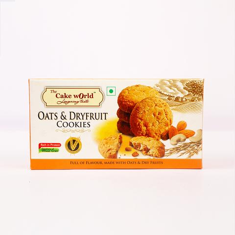 Oats & Dry fruit cookies