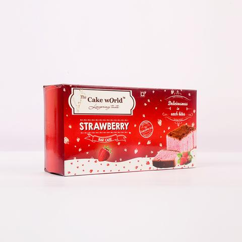 Strawberry  Bar Cake