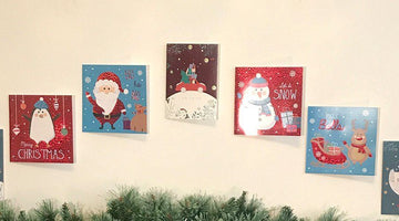 How to Display Christmas Cards Without Damaging the Walls