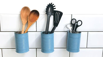How to Make a DIY Kitchen Utensil Holder