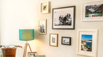 How to Hang Pictures Flush Against the Wall