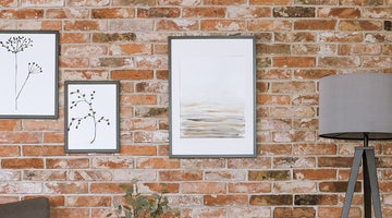 How to Hang Pictures on Brick Walls