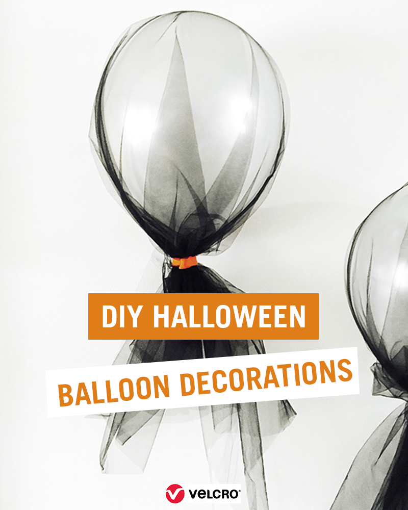DIY Halloween Balloon Decorations