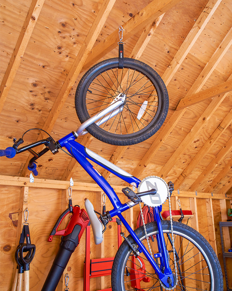Shed Organisation - Bike Storage