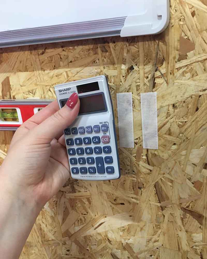 Workshop Organisation - Calculator Storage Hack