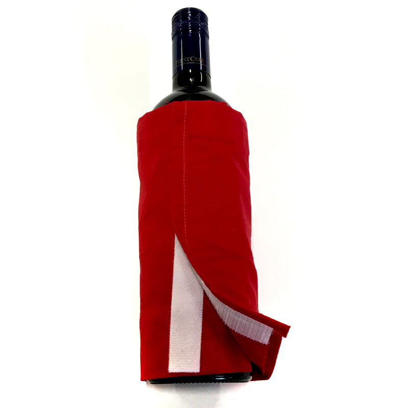 DIY Santa Wine Bottle Cover Step 6