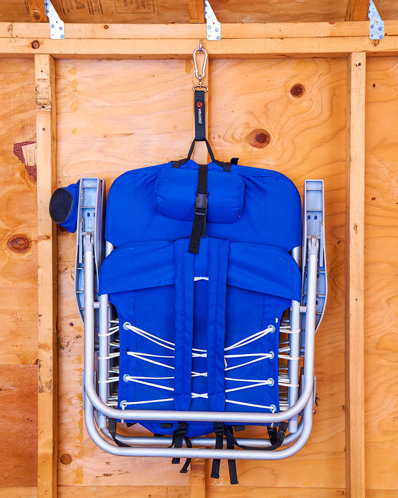 Folding Chair Storage - Shed Organisation