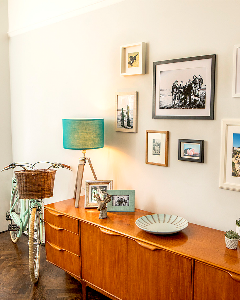 How to Hang Pictures on Plaster Without Nails