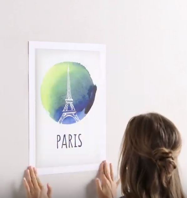 Hang Posters Without Pins
