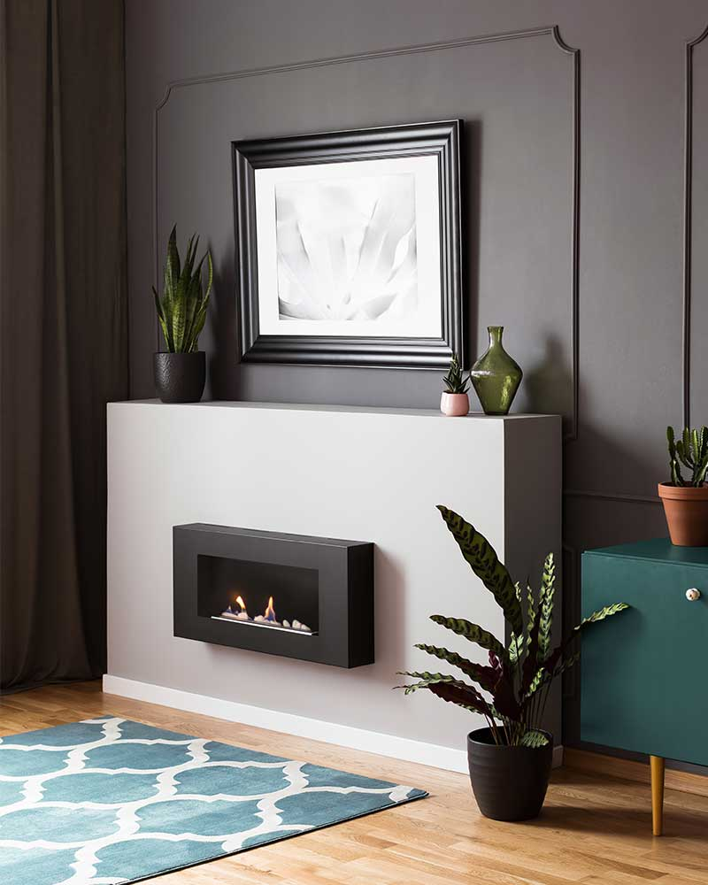 How High to Hang Pictures Above a Fireplace