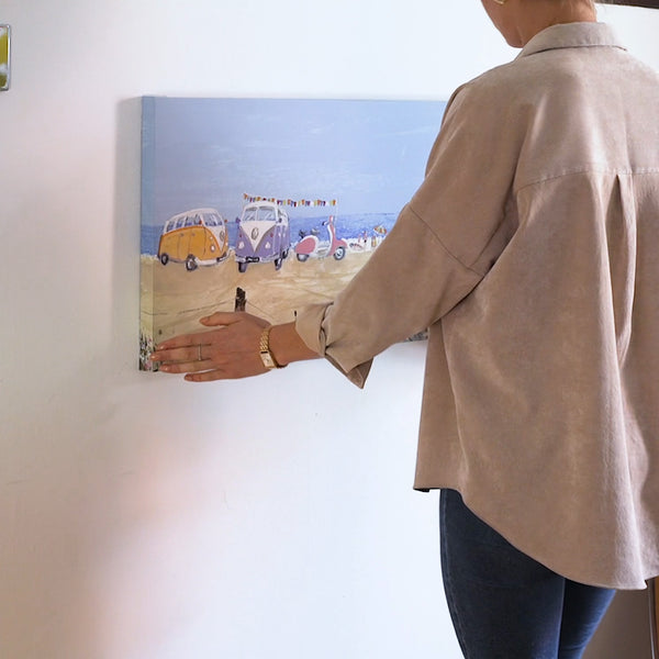 How to Hang a Canvas on the Wall