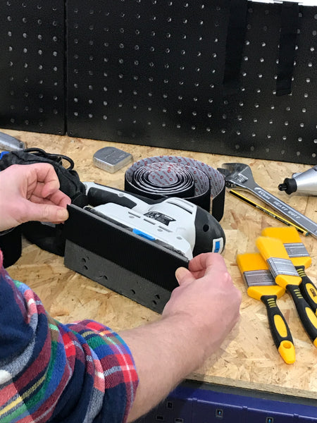 How to Fix a Worn Out Sander with VELCRO® Brand Heavy Duty Tape