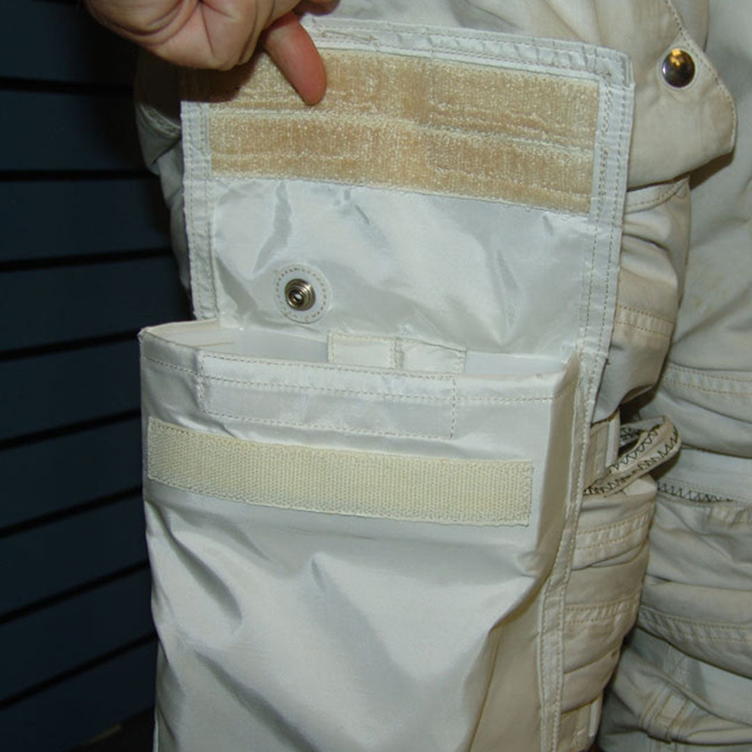 VELCRO® Brand Fasteners on the Pocket of an Astronaut's Spacesuit
