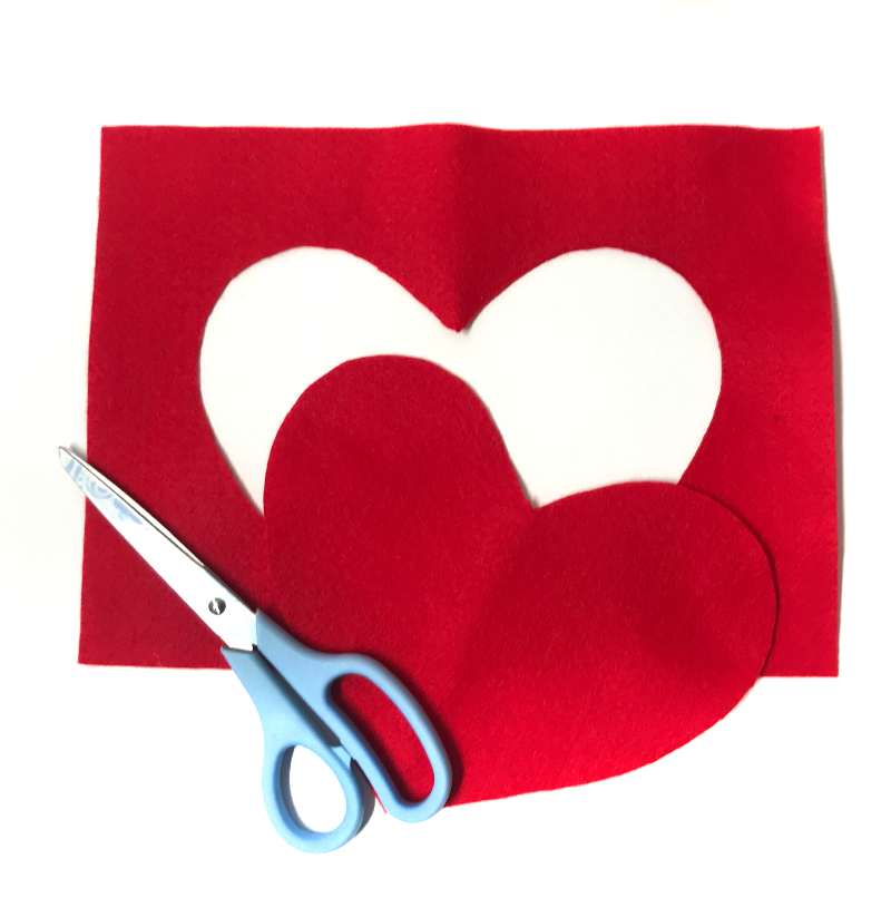 Valentine's Day Gift Bag Idea - Step 2
