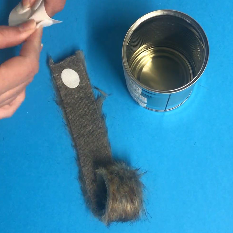 Star Wars Chewbacca Pencil Pot - Step 3
