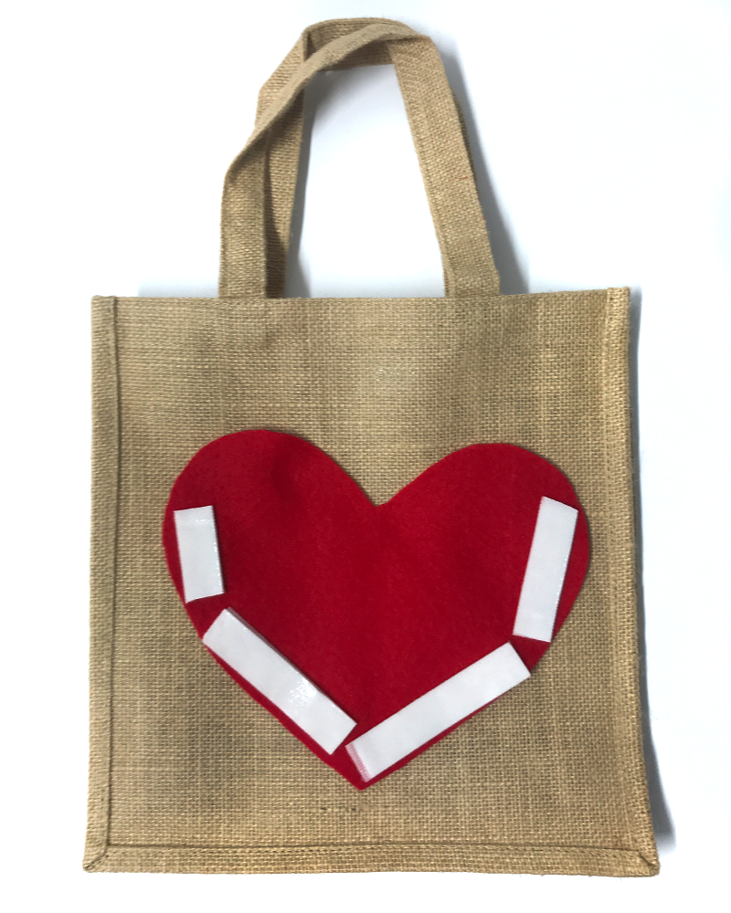 Valentine's Day Gift Bag Idea - Step 5