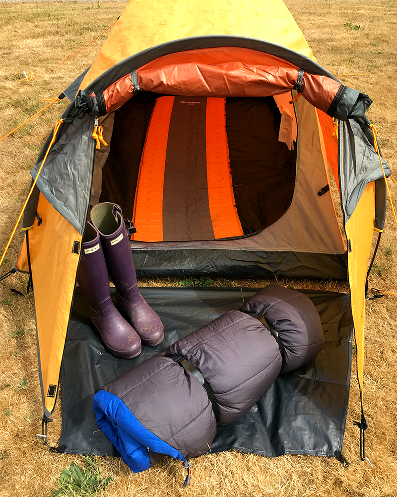 Clever Camping Hack