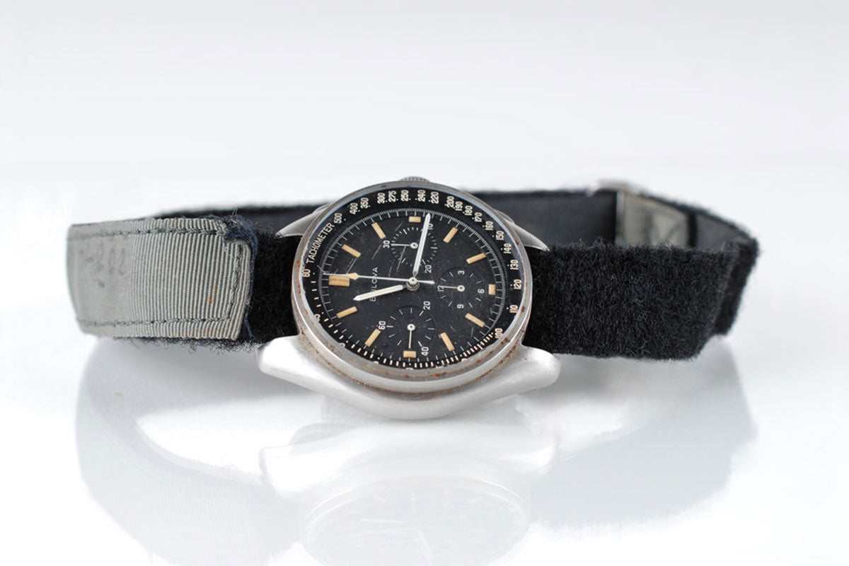 VELCRO® Brand Fasteners on an Astronaut's Wristwatch
