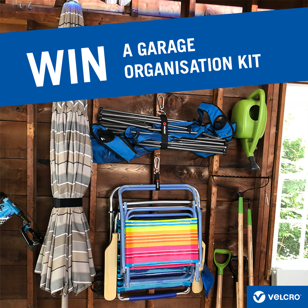 Win a Garage Organisation Kit