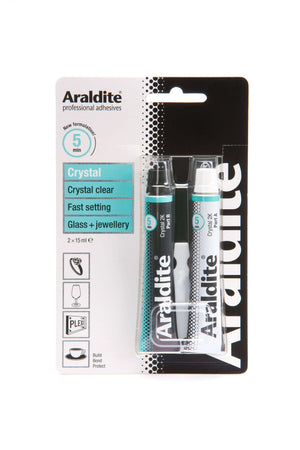 Araldite® Crystal 15ml Tube X 2