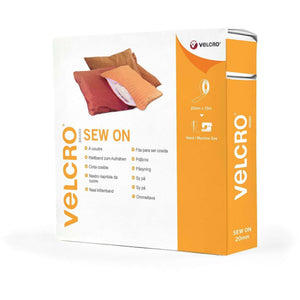 Tape - VELCRO® Brand Sew On Tape 10m In Burgundy