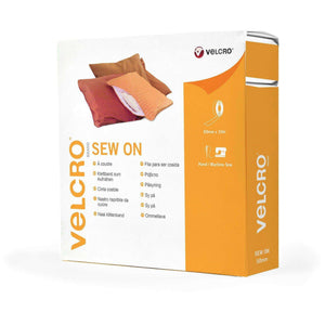 Tape - VELCRO® Brand Sew On Tape 10m In White