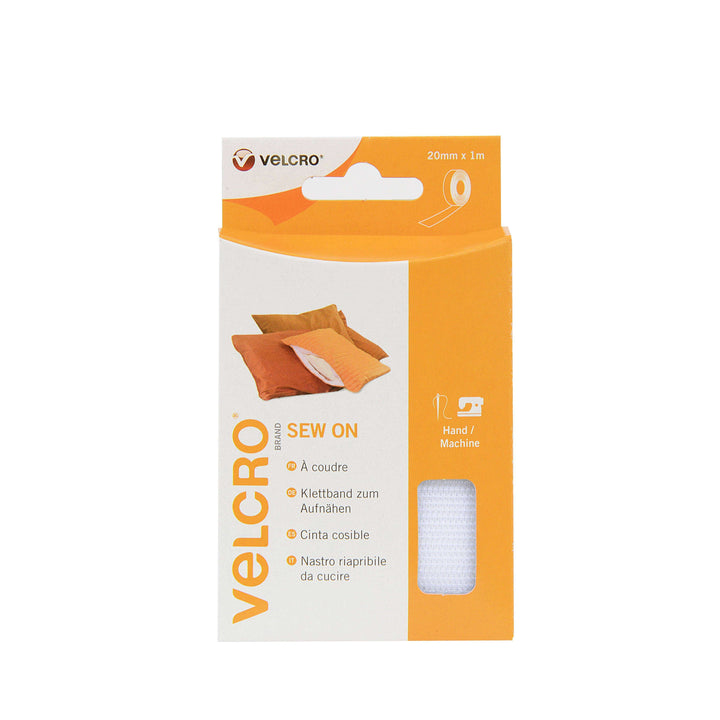 Tape - VELCRO® Brand Sew On Tape 1m In White