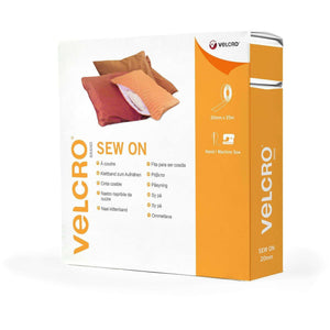 Tape - VELCRO® Brand Sew On Tape 25 M In White