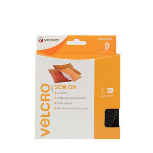Tape - VELCRO® Brand Sew On Tape 5m In Black