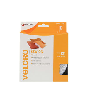 Tape - VELCRO® Brand Sew On Tape 5m In White