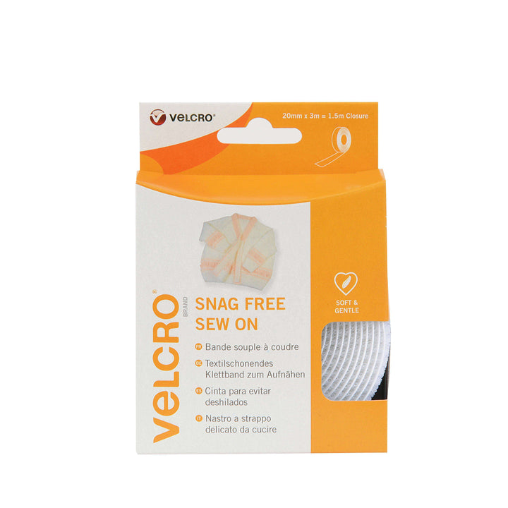 Tape - VELCRO® Brand Snag Free Sew On Tape 3m In White